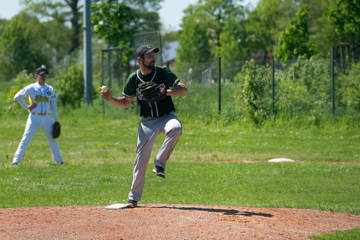 Pitching in Löningen